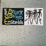 The Strange Strings Ensemble  - One For Ra (single sided, limited ed. numbered, turquoise & petrol marble)