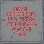 orval carlos sibelius - ordre et progres
