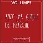 volume! - vol. 12-1, 2015 (avec ma gueule de métèque)