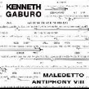 kenneth gaburo - maledetto antiphony VIII