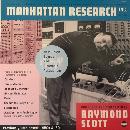 raymond scott - manhattan research (180 gr., transparent vinyl)