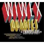 wiwex quartet (pablo cueco - mirtha pozzi - nathan hanson - brian roessler / fantastic merlins) - equidistant