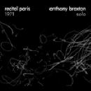 anthony braxton - recital paris 1971