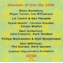 v/a - freedom of the city 2005