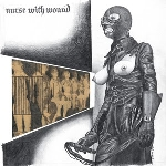 nurse with wound - chance meeting on a dissecting table of a sewing machine and an umbrella