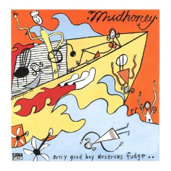 Mudhoney - Every Good Boy Deserves Fudge (orange vinyl)