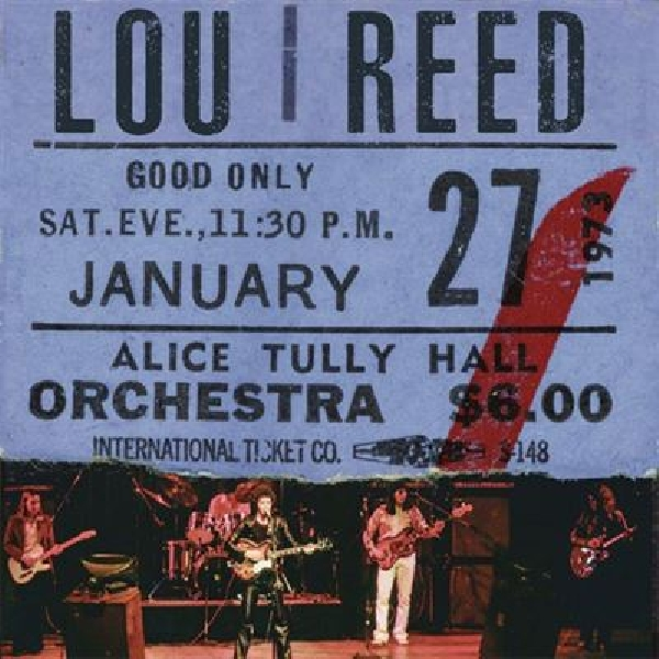 Lou Reed - Live At Alice Tully Hall 1973 (RSD 2020)
