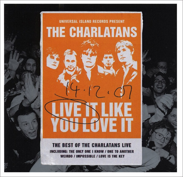 The Charlatans - Live It Like You Love It (RSD 2020)