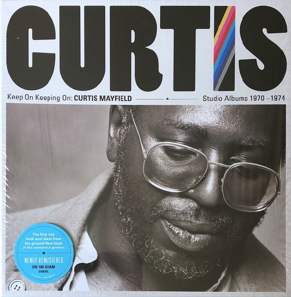 Curtis Mayfield - keep on keeping on: curtis mayfield studio albums 1970-1974 (box set)