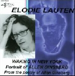 elodie lauten - waking in new york, portrait of allen ginsberg