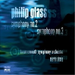 philip glass - symphony no.2 / no.3