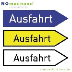 no means no - all roads lead to ausfahrt