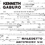 kenneth gaburo - maledetto antiphony VIII