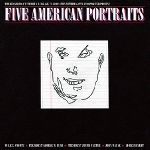the red crayola with art & language - five american portraits