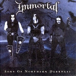 immortal - sons of northern silence (180 gr)
