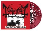 mayhem - deathcrush (red / white / black splatter)