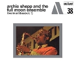 archie shepp - live in antibe vol.1 (180 gr.)