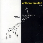 anthony braxton - recital paris 1971