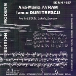 ana-maria avram - iancu dumitrescu - live in LSO st. luke's, london - extreme point of gravity