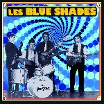 les blue shades - s/t (marbled blue)