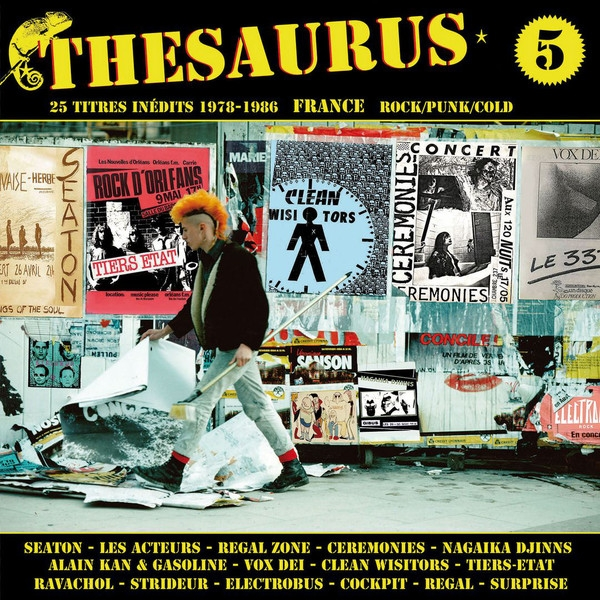 v/a - thesaurus volume 5 (inédits rock/punk/cold 1978-1986)
