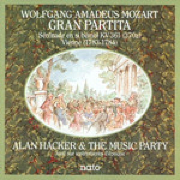 alan hacker & the music party / mozart - gran partita sérénade en si bémol kv 361 (370a) vienne (1783-1784)