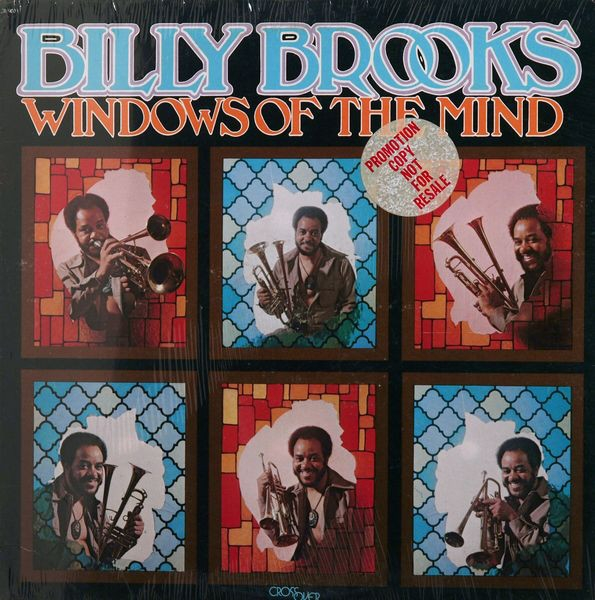 billy brooks - windows of the mind (colored vinyl)