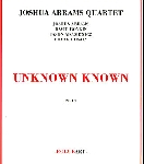 joshua abrams quartet - unknown known