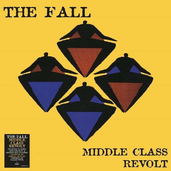 The Fall - Middle Class Revolt (clear vinyl)