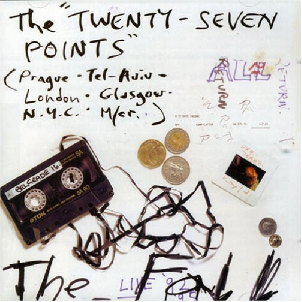 The Fall - The Twenty-Seven Points (clear vinyl)
