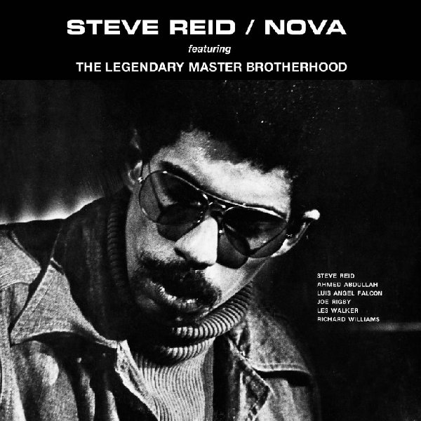 Steve Reid Featuring The Legendary Master Brotherhood ‎– Nova  - Nova (orange vinyl)