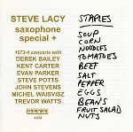 steve lacy - saxophone special + (1973-4)