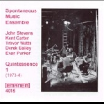 spontaneous music ensemble - quintessence (1973-1974)