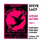 steve lacy - avignon and after 1 (1972/4)