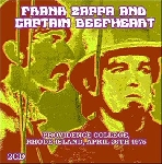 frank zappa and captain beefheart - providence college, rhode island, april 26th 1975 (180 gr.)