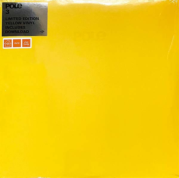 pole - 3 (limited ed. yellow vinyl)