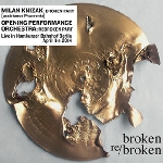 milan knizak - opening performance orchestra - broken re/broken