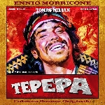 ennio morricone - tepepa (clear orange vinyl)