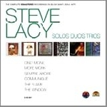 steve lacy - solos duos trios - the complete remastered recordings on black saint & soul note