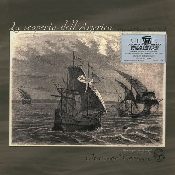 ennio morricone - la scoperta dell`america (original television soundtrack) - ltd. ed. num. grey marbled vinyl 180g