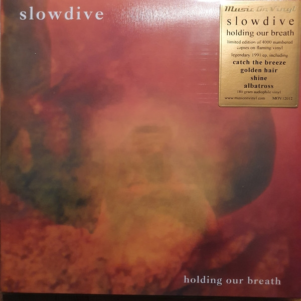 Slowdive - Holding Our Breath (flaming orange vinyl)