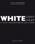 richie unterberger - the velvet underground - white light / white heat (le velvet underground au jour le jour)