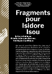 v/a - fragments pour isidore isou