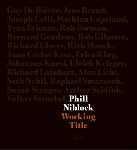 phill niblock - working title