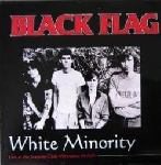black flag - white minority